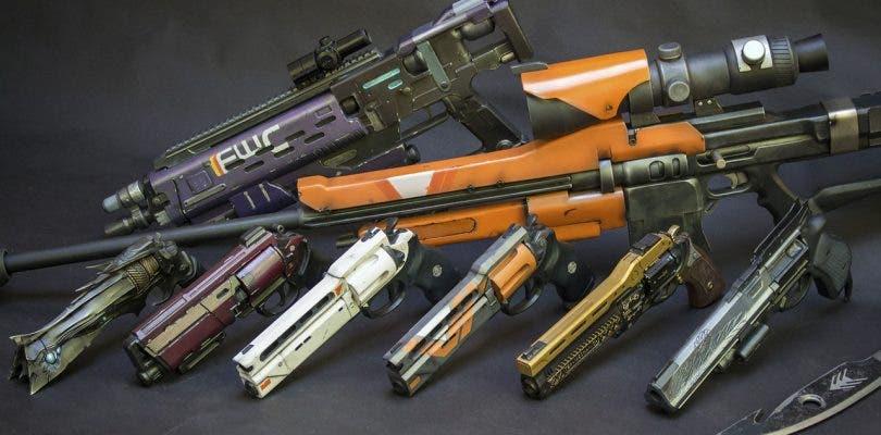 Las armas no funcionales de Destiny creadas por un cosplayer