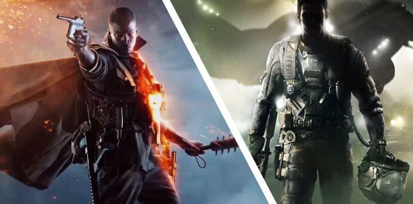 Battlefield 1 y Call of Duty: Infinite Warfare frente a frente