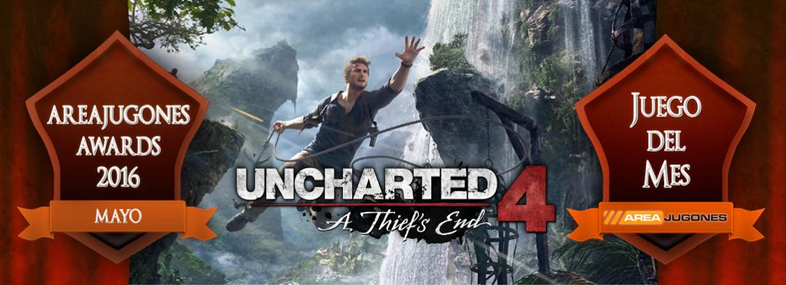uncharted 4 juego del mes