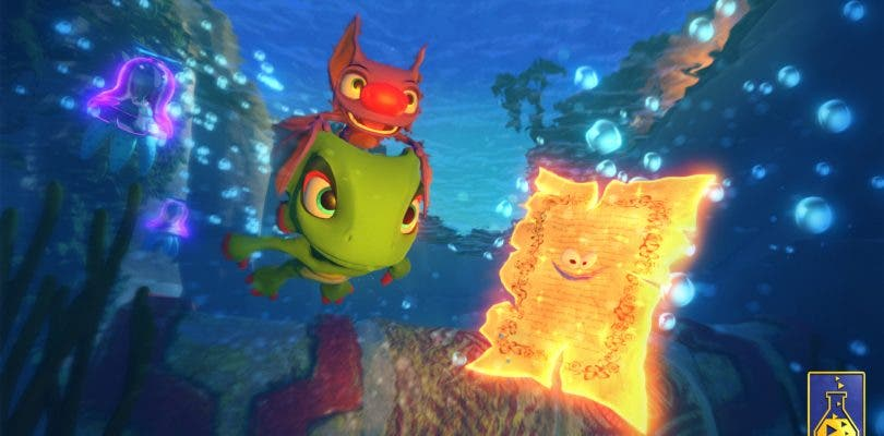 Yooka-Laylee ofrece su primer gameplay en PlayStation 4
