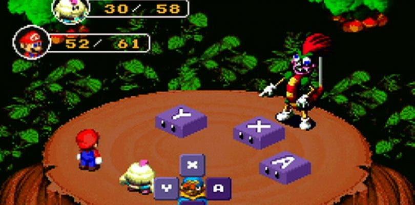 Super Mario RPG disponible para la eShop americana