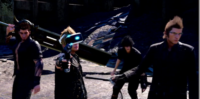 Final Fantasy XV también será compatible con PSVR