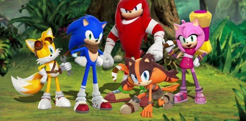 Tails, Knuckles y Sticks se presentan en el próximo Sonic Boom