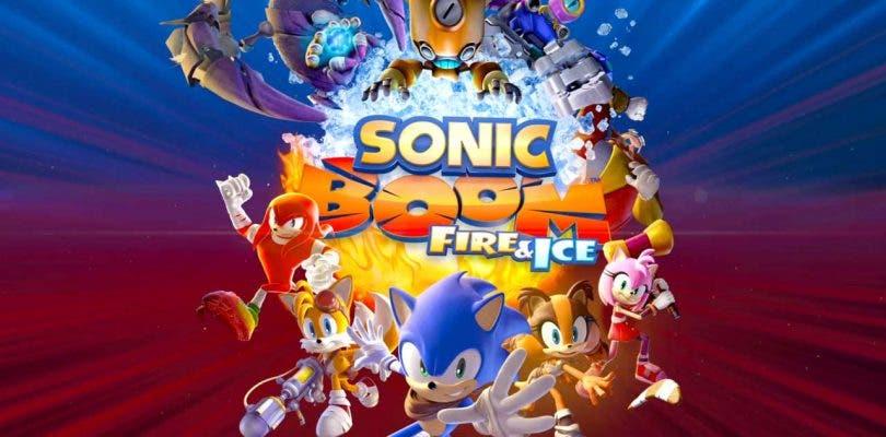 Nuevo gameplay de media hora de Sonic Boom: Fuego y Hielo