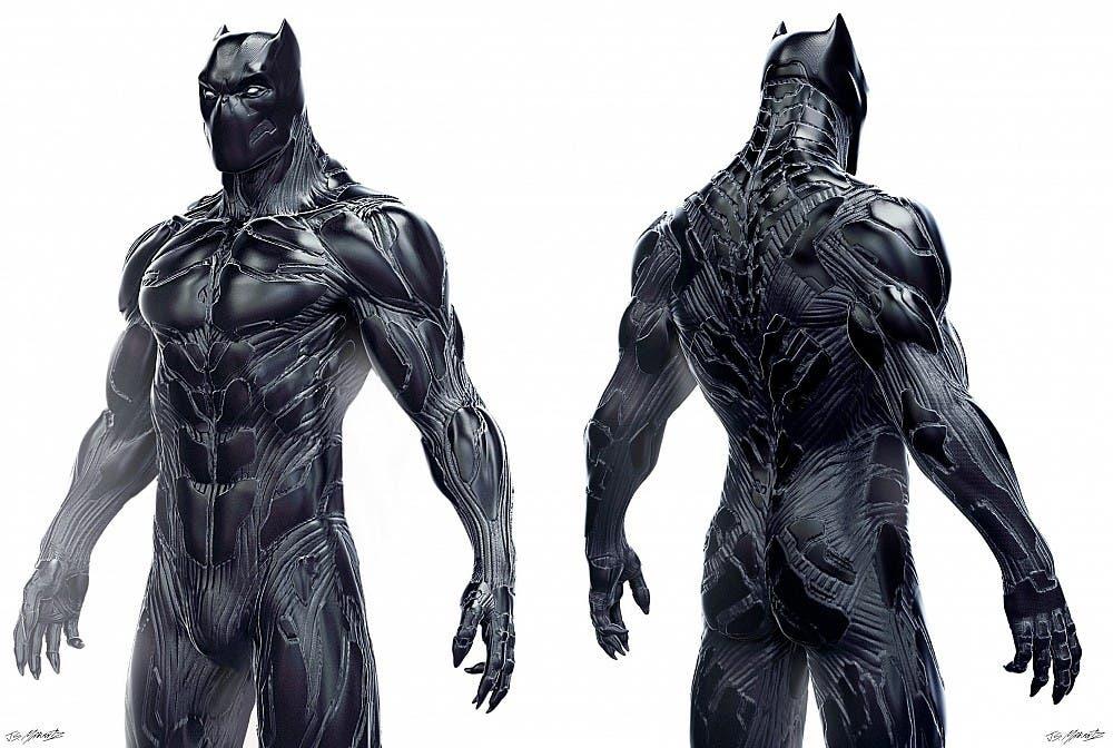 Areajugones Black Panther arte conceptual 2