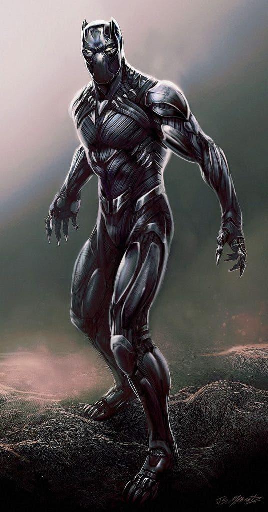 Areajugones Black Panther arte conceptual