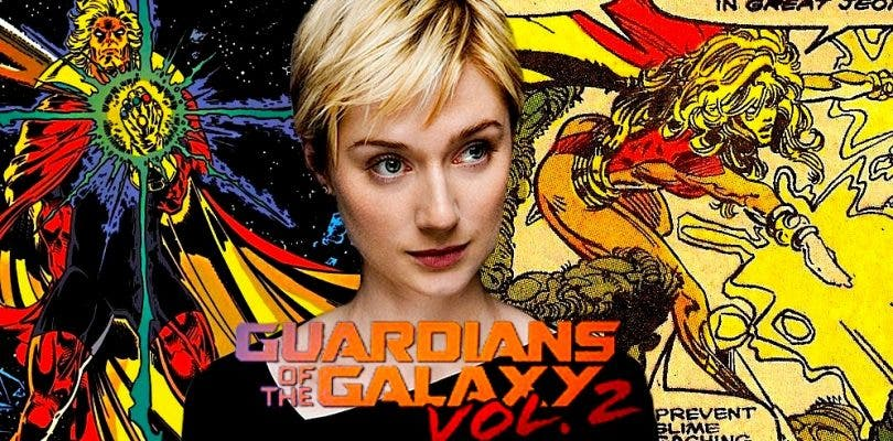 Elizabeth Debicki habla de Guardians of the Galaxy Vol. 2