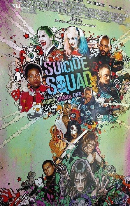 Areajugones Escuadron Suicida poster