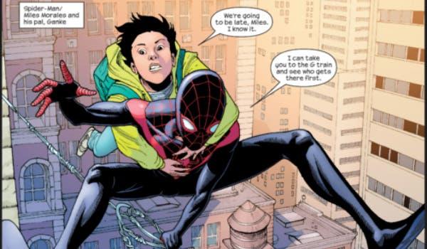 Areajugones Ganke Ultimate Spider-Man