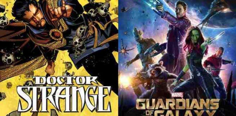 Primera sinopsis de Guardians of the Galaxy Vol.2 y Doctor Strange