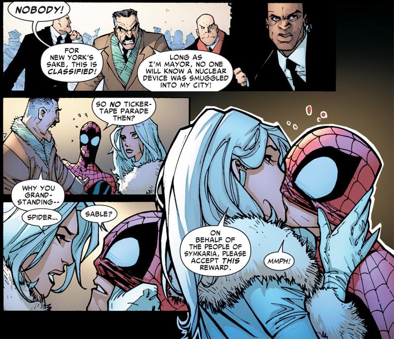 Areajugones Silver Sable Spider-Man
