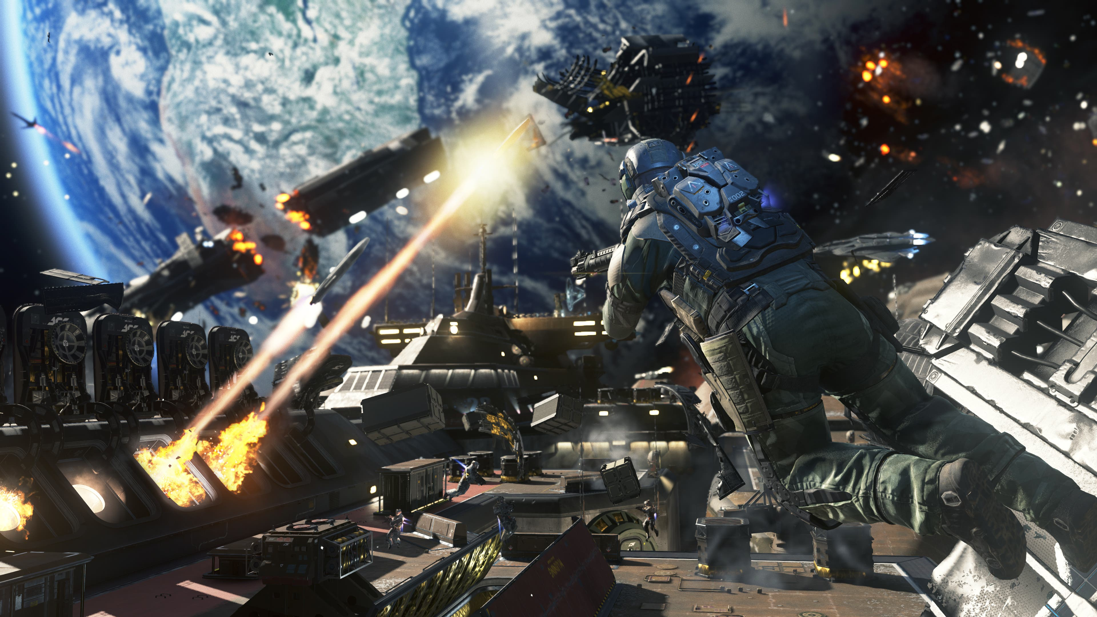 COW IW_E3_Ship Assault Zero G Combat