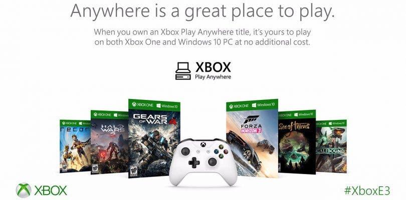 Se confirman los primeros juegos de Xbox Play Anywhere
