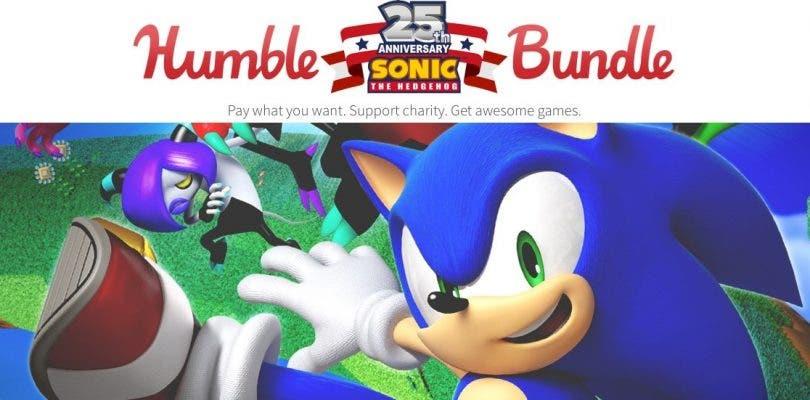 Nuevo Humble Bundle para celebrar los 25 años de Sonic