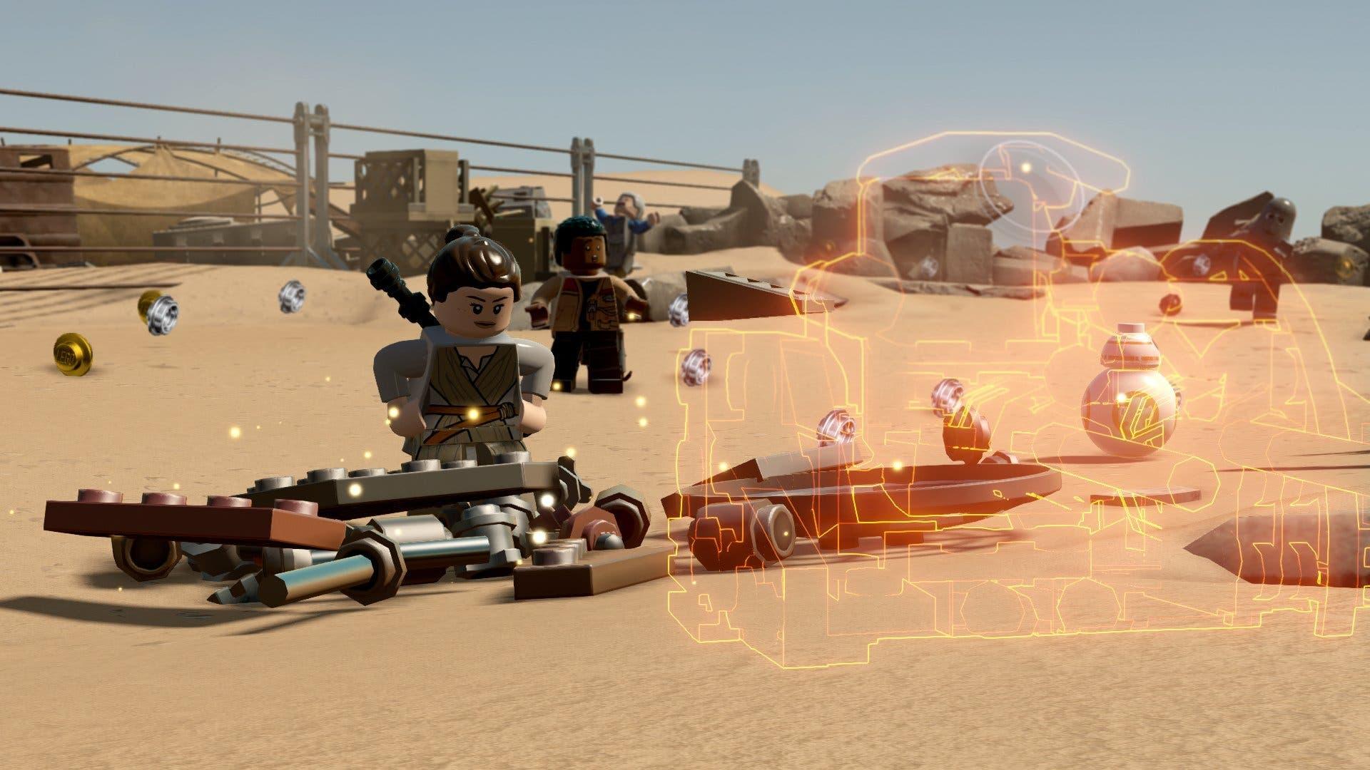 LEGO Star Wars The Force Awakens construcciones