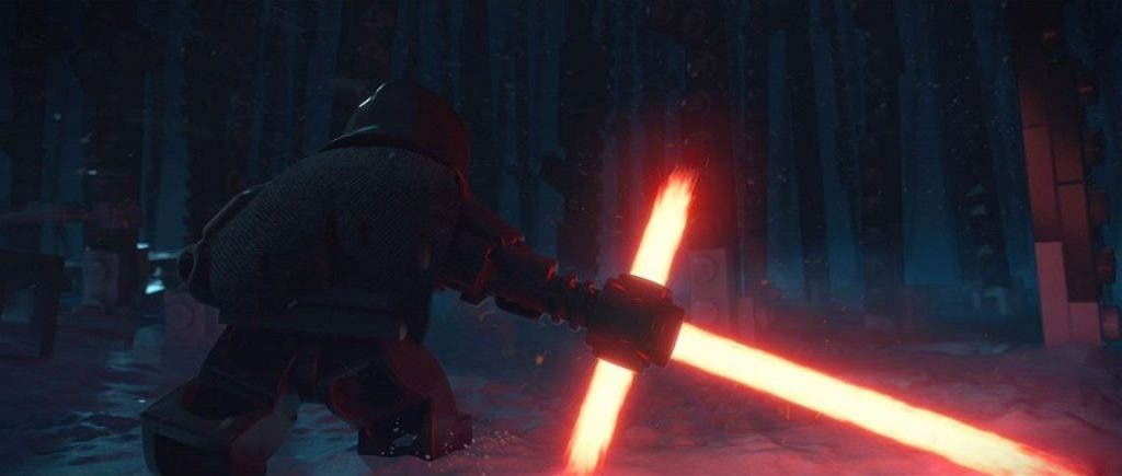 LEGO Star Wars- The Force Awakens kylo ren