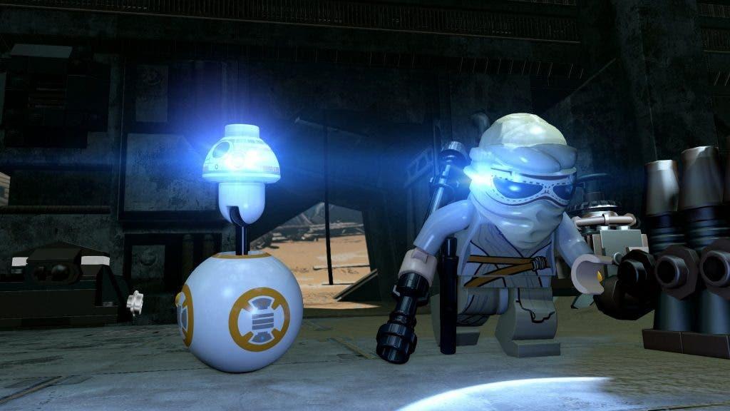 LEGO Star Wars- The Force Awakens rey y bb8