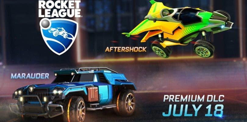 Llegan dos nuevos coches a Rocket League