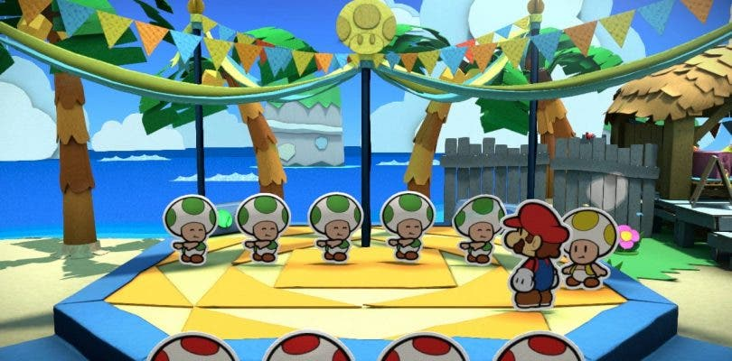 Tercer episodio de Paper Mario: Color Splash – Rescue V
