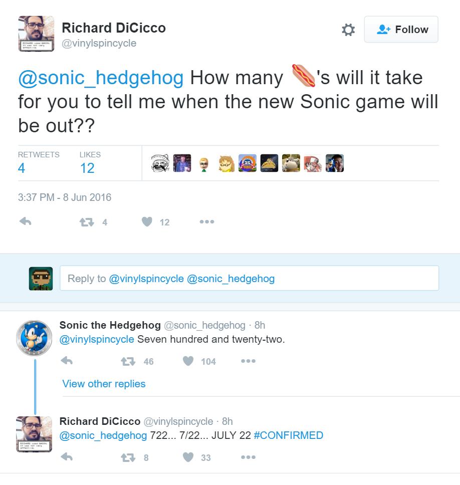 Sonic Anuncio
