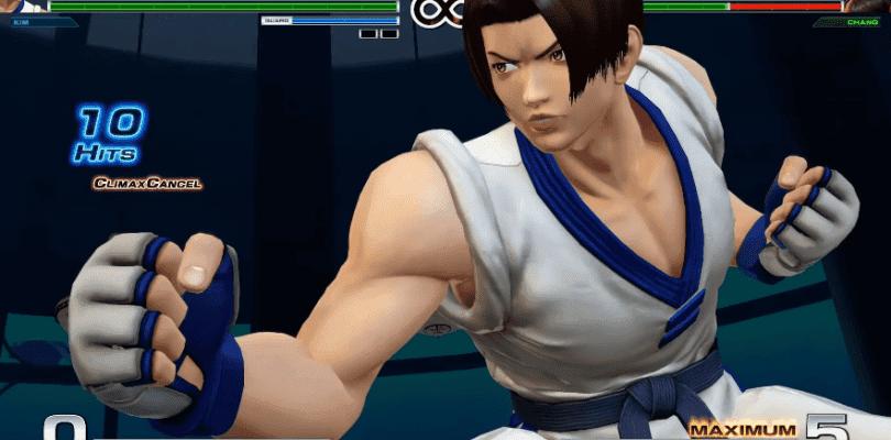 The King of Fighters XIV muestra al Team Kim