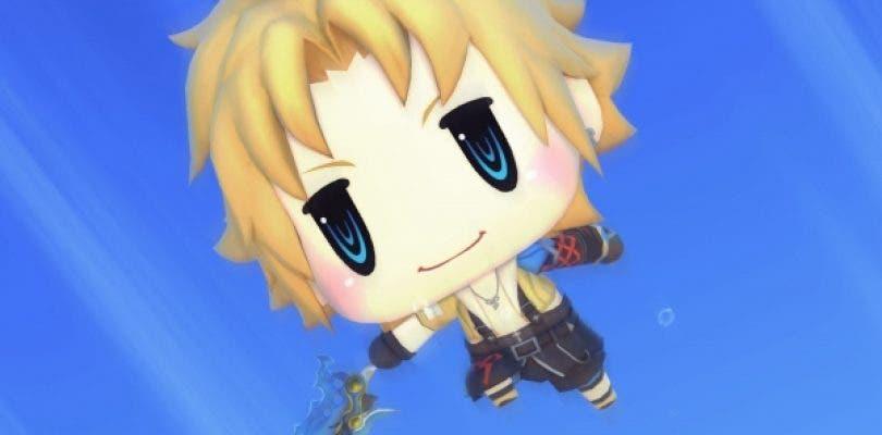 Así luce la nueva galería de imágenes de World of Final Fantasy