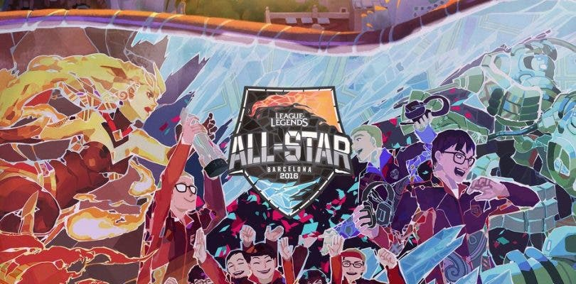 Barcelona recibirá el All-Star 2016 de League of Legends