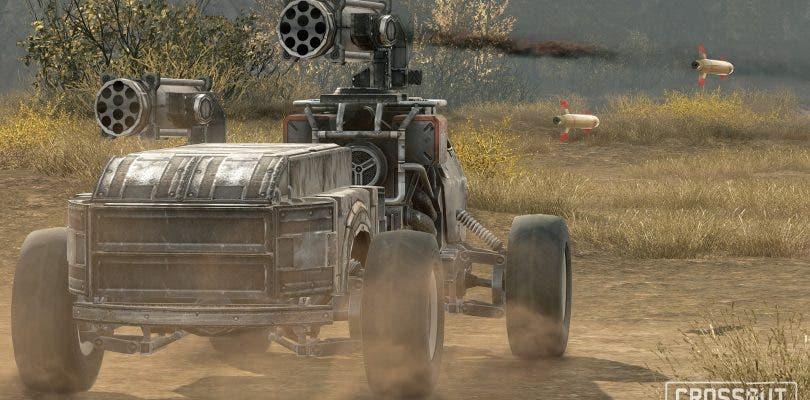 Crossout, el MMO de vehículos de combate, ya está disponible