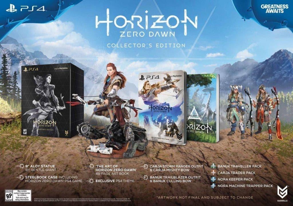 edición especial horizon zero