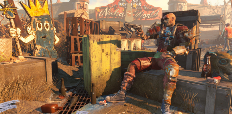 Se muestra el mapa de Nuka-World, el último DLC de Fallout 4