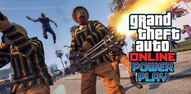 GTA Online se actualiza con su nuevo modo Adversario, Power Play