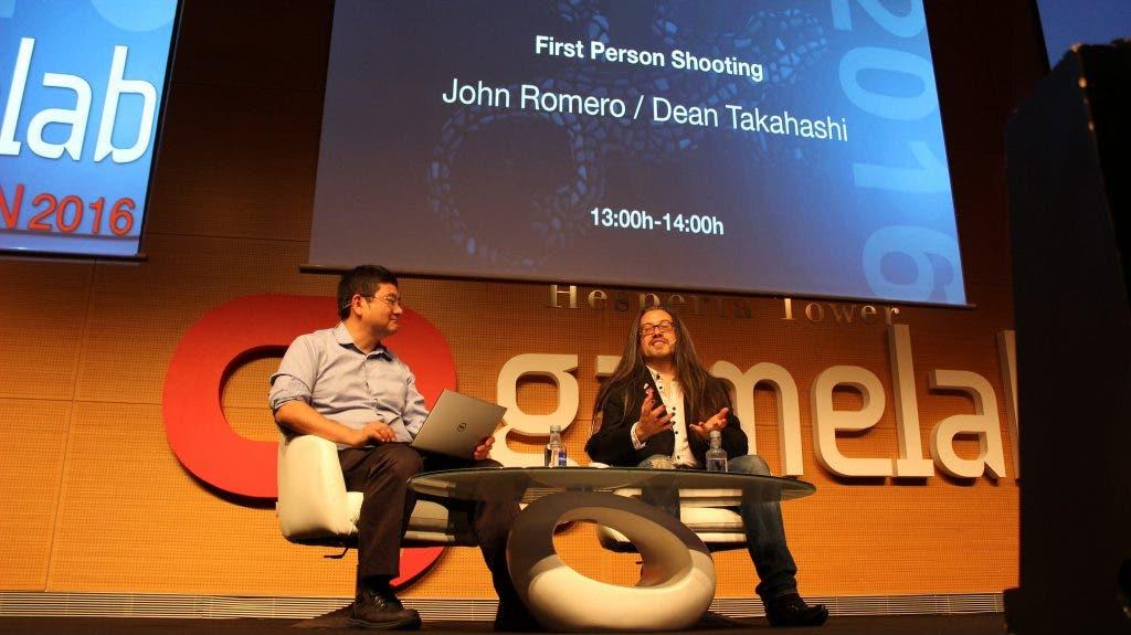 John Romero Gamelab 2016