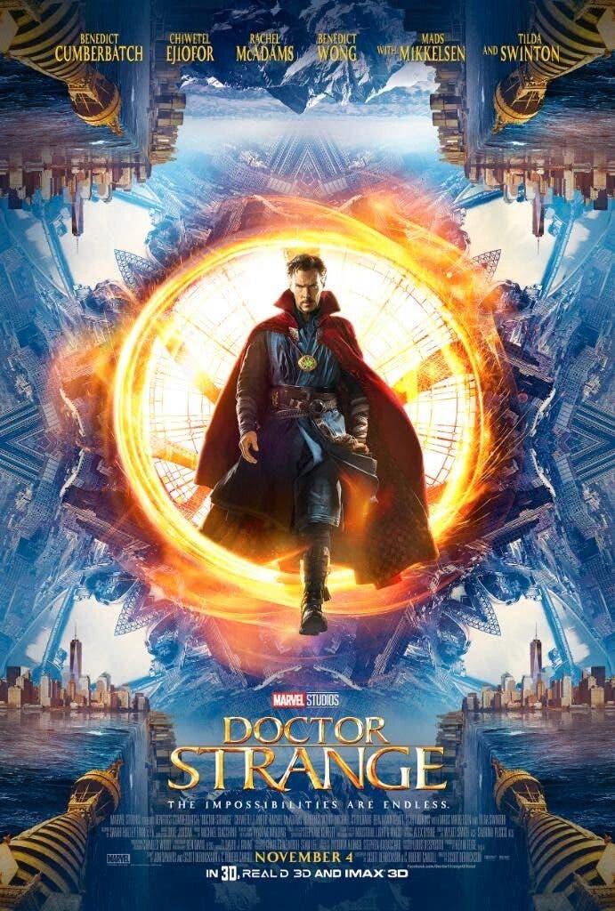 Areajugones Doctor Strange poster