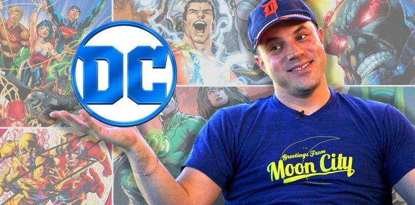 Geoff Johns es el nuevo presidente de DC Entertainment