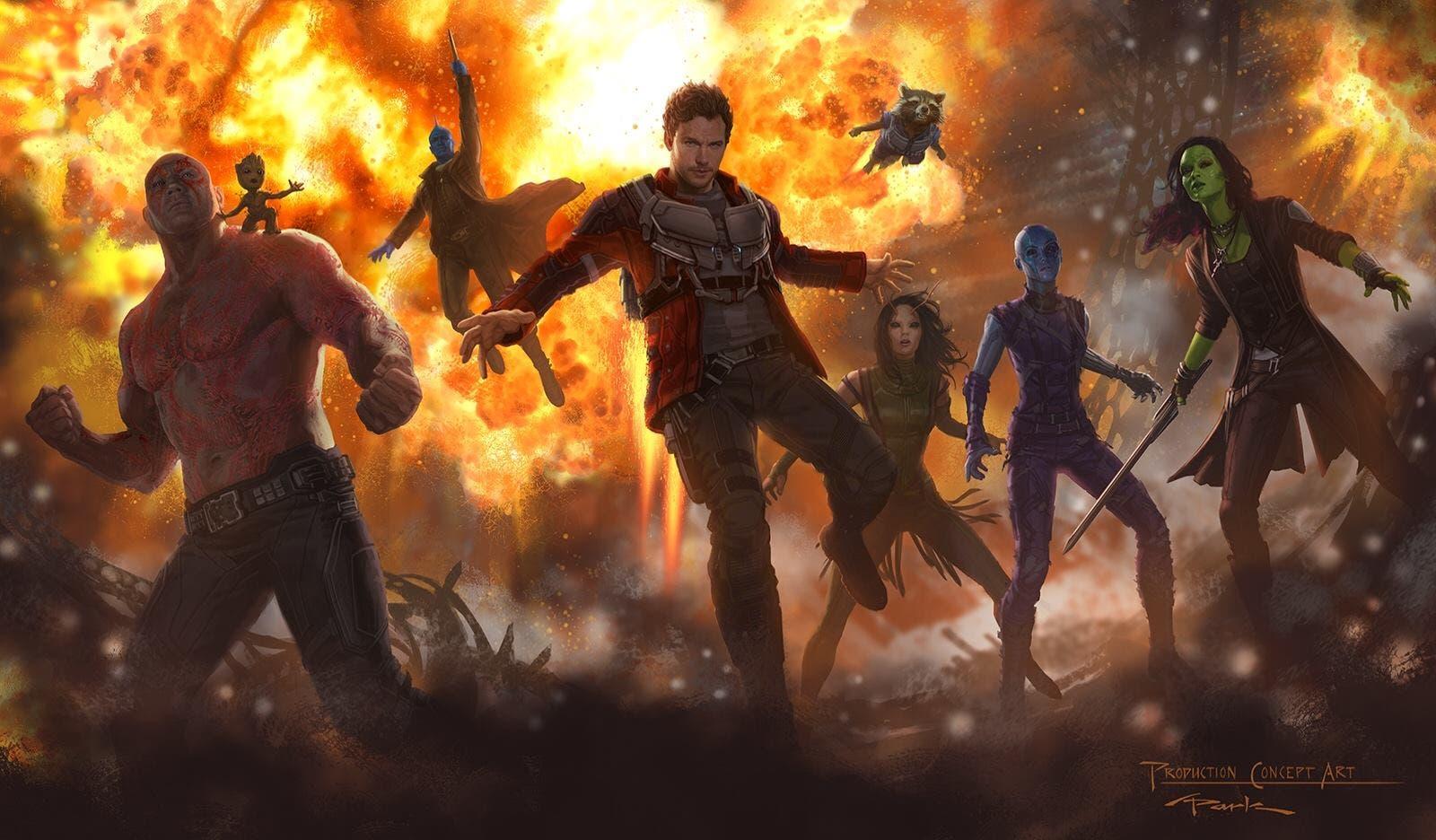 Areajugones Guardians of the Galaxy vol 2 concept art