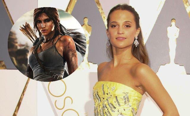 Areajugones Tomb Raider Alicia Vikander