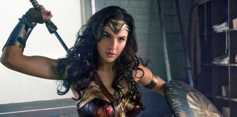 La amazona Wonder Woman en acción en nuevas imágenes de su rodaje