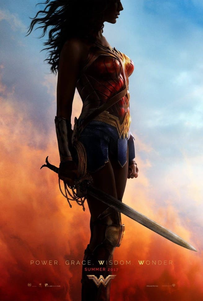 Areajugones Wonder Woman poster