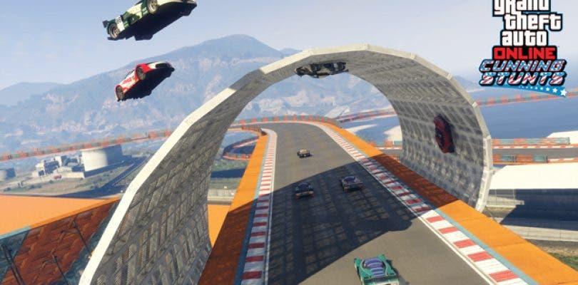 Nuevas carreras y vehículos para GTA Online: Cunning Stunts