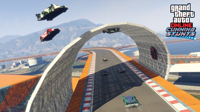 Bucle Doble - GTA Online - Cunning Stunts