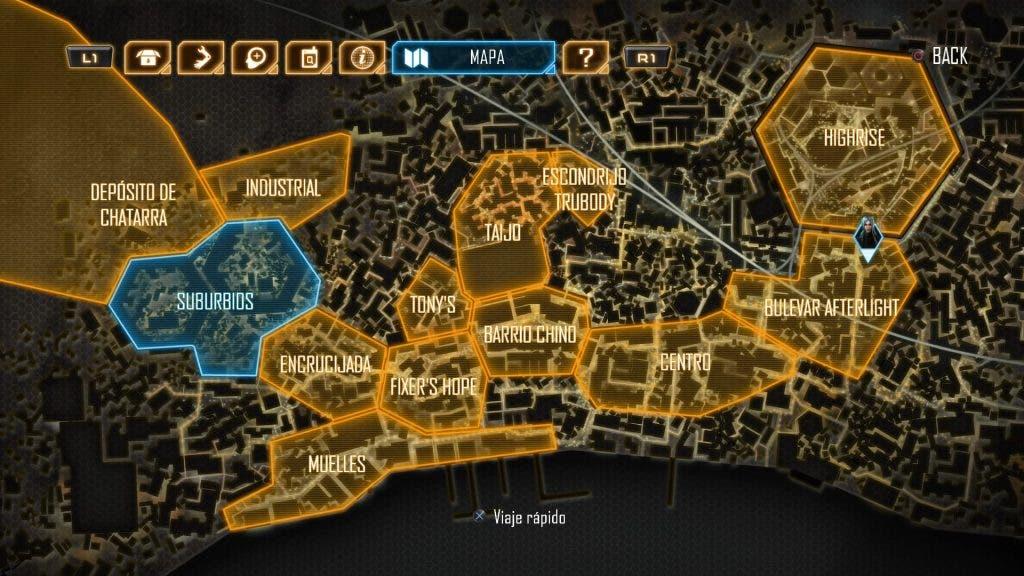 Dex mapa