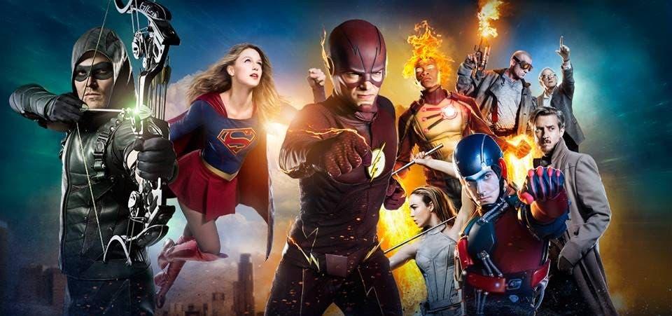 Flash Supergirl Arrow Legends