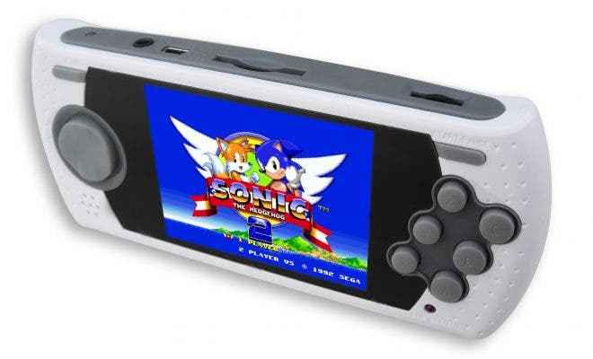 Mega Drive Ultimate Portable Game Player Edición Sonic 25th Anniversary