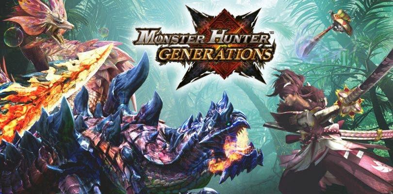 Publicado el tráiler de lanzamiento de Monster Hunter Generations