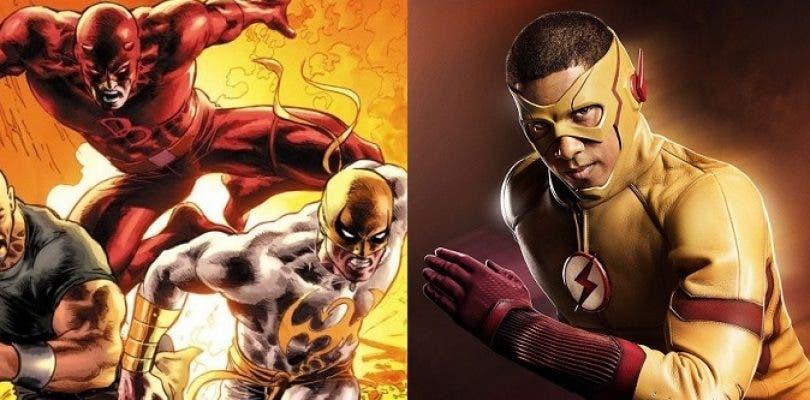 Netflix hará sus series más rápido y fotos de rodaje de The Flash