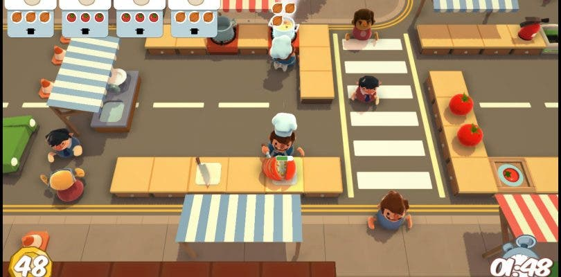 Overcooked ya se encuentra disponible
