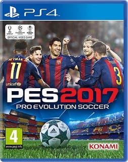 PES 2017 - FC Barcelona - Carátula PS4