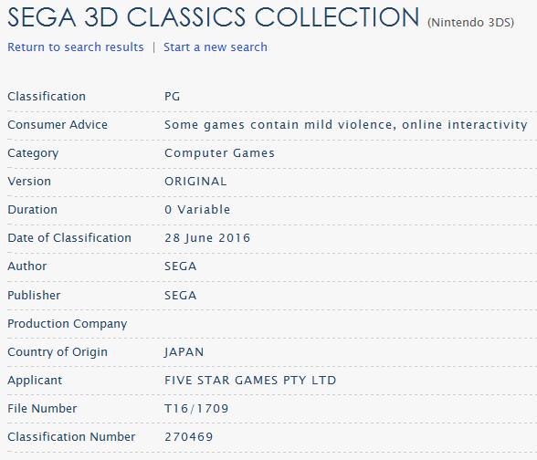 Sega-3D-Classics-Collection-Clasificación