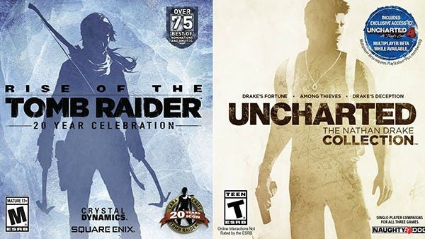 Similitud Tomb Raider- Uncharted