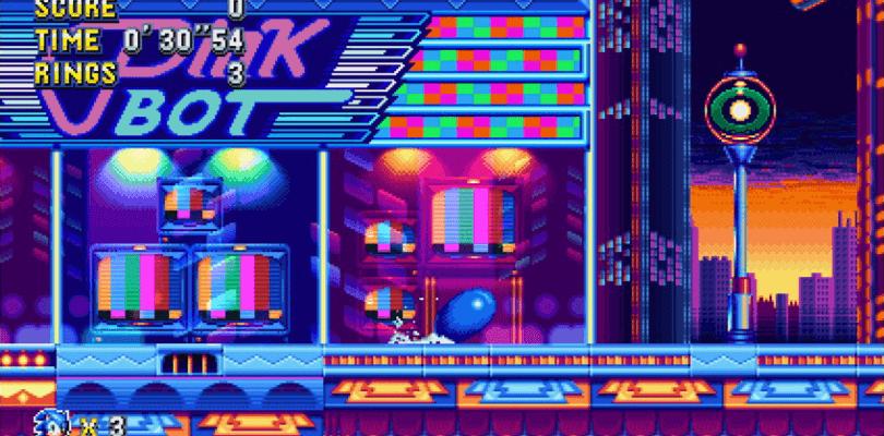 Sonic Mania para Switch saldrá el mismo día que las otras versiones